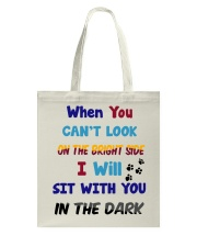 Sit With You In The Dark Tote Bag thumbnail