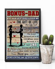 Bonus Dad Thanks For Loving Me As Your Own 11x17 Poster lifestyle-poster-8