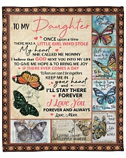 """Once Upon A Time Buuterfly Mom To Daughter Fleece Blanket - 50"""" x 60"""" front"""