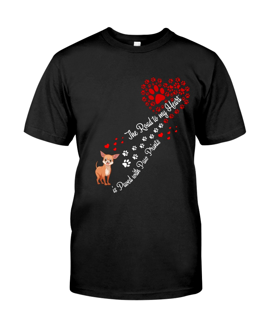 ChiHuaHua Road To My Heart Classic T-Shirt