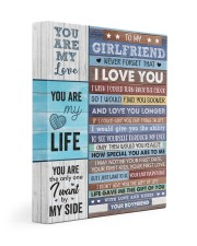 Never Forget That I Love U Boyfriend To Girlfriend Gallery Wrapped Canvas Prints tile