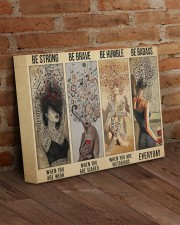 Be Strong Be Brave Be Humble Be Badass Hippie 14x11 Gallery Wrapped Canvas Prints aos-canvas-pgw-14x11-lifestyle-front-09