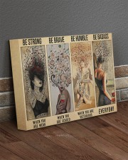 Be Strong Be Brave Be Humble Be Badass Hippie 14x11 Gallery Wrapped Canvas Prints aos-canvas-pgw-14x11-lifestyle-front-10