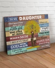 Daughter Keep Me In Your Heart I'll Stay There 14x11 Gallery Wrapped Canvas Prints aos-canvas-pgw-14x11-lifestyle-front-14