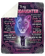 I Didn't Give U The Gift Of Life Lion GM To GD Sherpa Fleece Blanket tile