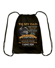 You Will Always Be My Loving Father Love From Son Drawstring Bag thumbnail