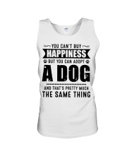 You Can't Buy Happiness But You Can Adopt A Dog Unisex Tank thumbnail