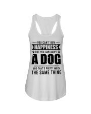 You Can't Buy Happiness But You Can Adopt A Dog Ladies Flowy Tank thumbnail