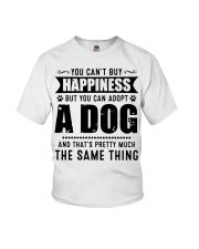You Can't Buy Happiness But You Can Adopt A Dog Youth T-Shirt thumbnail