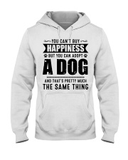 You Can't Buy Happiness But You Can Adopt A Dog Hooded Sweatshirt thumbnail