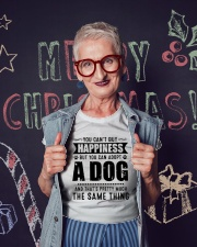 You Can't Buy Happiness But You Can Adopt A Dog Ladies T-Shirt lifestyle-holiday-crewneck-front-3