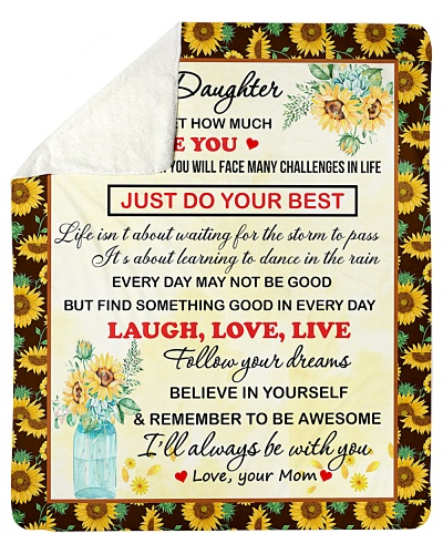 To My Daughter Believe In Yourself To Be Awesome