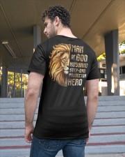 Lion Man Of God husband Step-Dad Hero Classic T-Shirt apparel-classic-tshirt-lifestyle-back-48