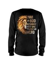 Lion Man Of God husband Step-Dad Hero Long Sleeve Tee thumbnail