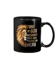 Lion Man Of God husband Step-Dad Hero Mug thumbnail