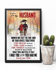 Husband What Will Matter Is That I Had U U Had Me 11x17 Poster lifestyle-poster-8
