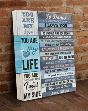 Personalized Never Forget I Love You To Boyfriend 11x14 Gallery Wrapped Canvas Prints aos-canvas-pgw-11x14-lifestyle-front-09