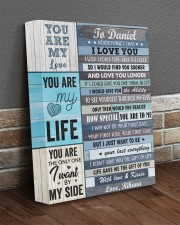 Personalized Never Forget I Love You To Boyfriend 11x14 Gallery Wrapped Canvas Prints aos-canvas-pgw-11x14-lifestyle-front-10