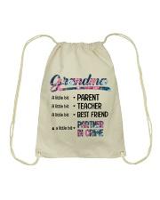 Grandma A Little Bit Partner In Crime Drawstring Bag thumbnail