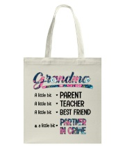 Grandma A Little Bit Partner In Crime Tote Bag thumbnail