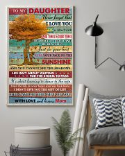 Daughter Be Brave Be Beautiful Just Do Your Best 11x17 Poster lifestyle-poster-1
