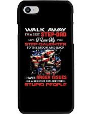 Walk Away I Am A Best Step Dad Phone Case thumbnail