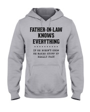 Father-In-Law Knows Everything Hooded Sweatshirt front