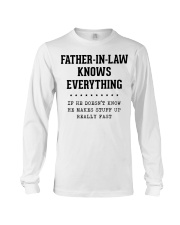 Father-In-Law Knows Everything Long Sleeve Tee thumbnail