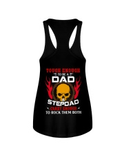 Tough Enough to be a Dad and Step Dad Ladies Flowy Tank thumbnail
