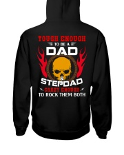 Tough Enough to be a Dad and Step Dad Hooded Sweatshirt thumbnail