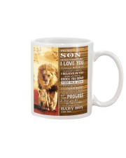 Lion Never Forget That I Love You Dad To Son Mug tile