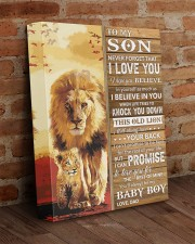 Lion Never Forget That I Love You Dad To Son 11x14 Gallery Wrapped Canvas Prints aos-canvas-pgw-11x14-lifestyle-front-09