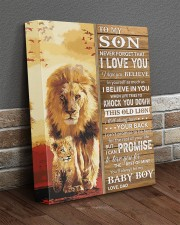 Lion Never Forget That I Love You Dad To Son 11x14 Gallery Wrapped Canvas Prints aos-canvas-pgw-11x14-lifestyle-front-10