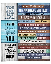 """Never Forget That I Love U GM To GD Fleece Blanket - 50"""" x 60"""" front"""