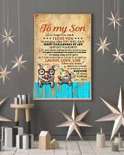 Never Forget How Much I Love U Pig Mom To Son 11x17 Poster lifestyle-holiday-poster-1