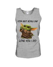 Best Bonus Dad Love You I do Unisex Tank thumbnail