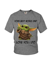 Best Bonus Dad Love You I do Youth T-Shirt thumbnail