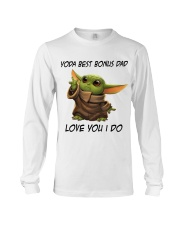 Best Bonus Dad Love You I do Long Sleeve Tee thumbnail
