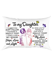 Daughter Hold It You'll Feel My Love Within In Rectangular Pillowcase front