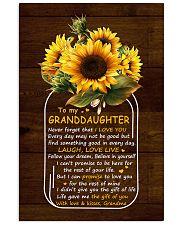 Never 4get That I Love U Grandma To Granddaughter Vertical Poster tile