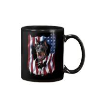American Flag Doberman pinscher Mug thumbnail