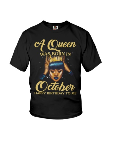 A Queen Was Born In October