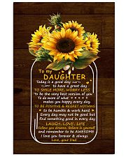 Today Is A Good Day  Dad To Daughter Vertical Poster tile