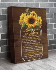 Today Is A Good Day  Dad To Daughter 11x14 Gallery Wrapped Canvas Prints aos-canvas-pgw-11x14-lifestyle-front-12