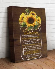 Today Is A Good Day  Dad To Daughter 11x14 Gallery Wrapped Canvas Prints aos-canvas-pgw-11x14-lifestyle-front-14