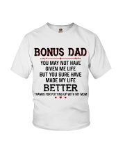 Bonus Dad Thank for putting up with Mom Youth T-Shirt thumbnail