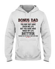 Bonus Dad Thank for putting up with Mom Hooded Sweatshirt thumbnail