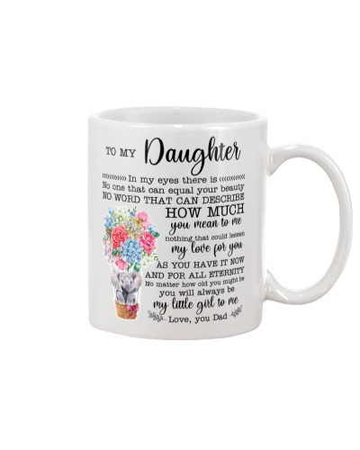 To My Daughter You Will Always Be My Little Girl