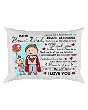 Dear My Bonus Dad Rectangular Pillowcase front