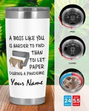 Personalized Name Boss Like U Harder To Find 20oz Tumbler aos-20oz-tumbler-lifestyle-front-46